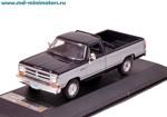 Dodge RAM 1987 2-tones (blue, silver)