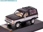 Ford Bronco II 2-tones 1989 (black)