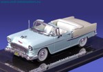 Chevrolet Bel Air Open Convertible 1955 (blue)