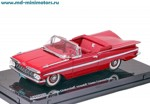 Chevrolet Impala Open Convertible 1959 (red)