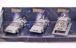 De Lorean DMC 12 Back to the Future (three pack)