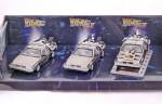 De Lorean DMC 12 Back to the Future (three pack)