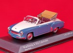 Wartburg A 311 Cabriolet 1958 (blue-white)