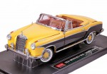 Mercedes-Benz 220SE Open Convirtable 1958 (black-yellow)
