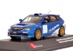 Subaru Impreza WRX STI WRC liveries presentation car 2009 (blue)