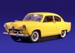 Kaiser Henry J 1951 (yellow)