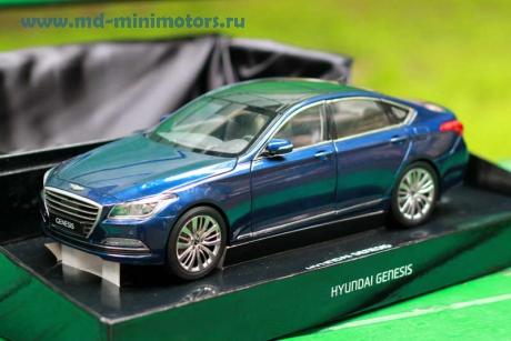 Hyundai Genesis 2014 (met. blue)