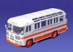 ПАЗ 672М (бело-оранжевый)