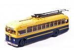 Троллейбус МТБ-82Д (желтый-синий)