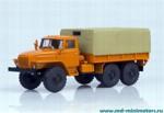 УРАЛ 4320 бортовой с тентом (оранжевый)