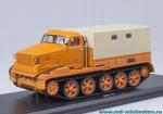 АТ-Т бортовой с тентом (оранжевый)