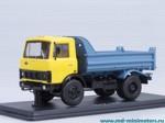 МАЗ 5551 самосвал ранний (жёлто-синий)