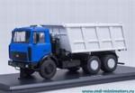 МАЗ 5516 самосвал (сине-серый)