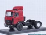 МАЗ 5432 седельный тягач со спойлером поздний (красный)