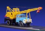 АК-75В (на шасси ЗИЛ 130) 1965 (желто-голубой)