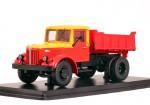 МАЗ 205 самосвал «Мосгортранс» (красный)