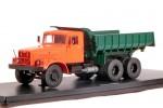 КРАЗ 256Б1 самосвал (оранжево-зелёный)
