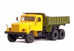 КрАЗ 256 Б1 самосвал (желтый-зеленый)