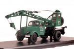Автокран ЛАЗ-690 на шасси ЗИЛ-164 (зеленый)