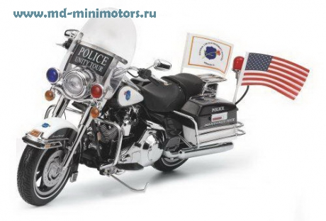Harley Davidson Police Road King Unity Tour Limited Edition